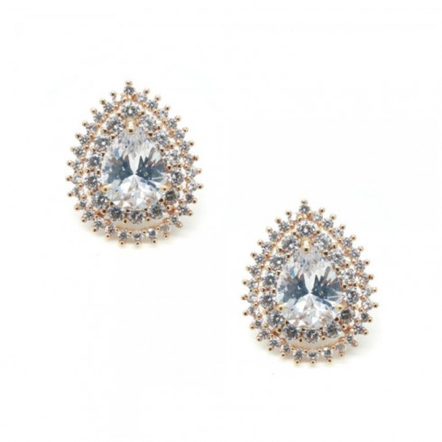 Jade Gold Studs - (Buy Now)