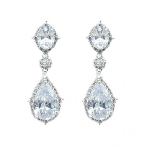 Kate Earrings Clear Cystal - (Buy Now)