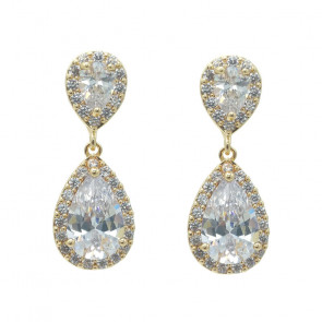 Anna Gold Earrings - (Buy Now)