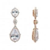 Kate Earrings Rose Gold - (Buy Now)