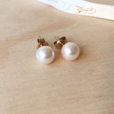 Pearl Akoya Studs 18ct Gold - (Made to Order)